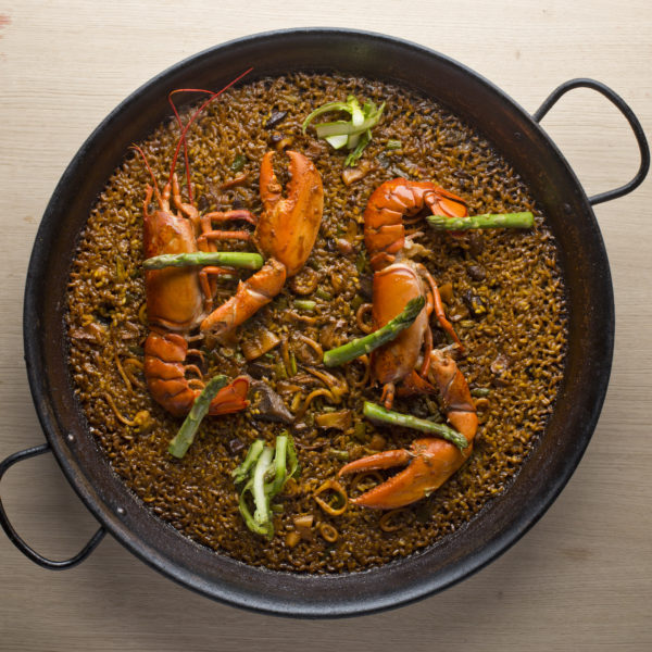 lobster Paella in Barcelona