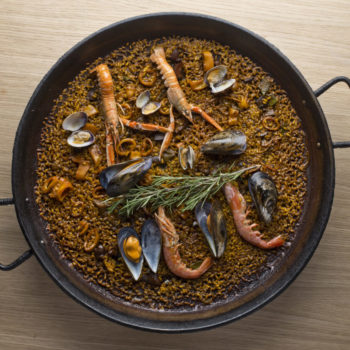 Seafood Paella Barceloneta