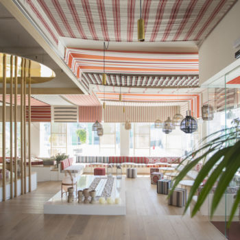 Interior of Maná 75 - paella restaurant Barcelona