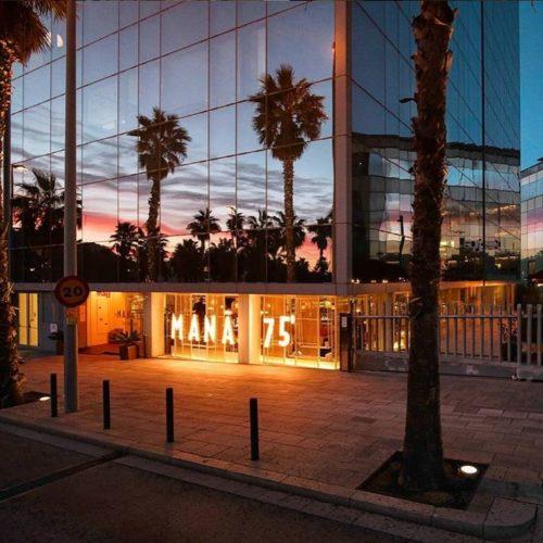 Restaurante con terraza Barceloneta