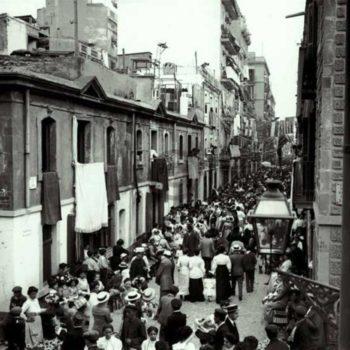 La Barceloneta la foto histórica