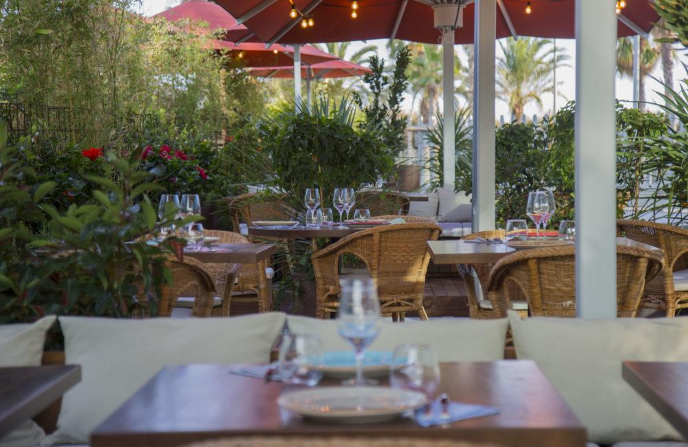 Restaurante con terraza Barcelona -Mana 75