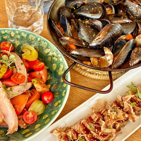 Cocina Mediterránea en La Barceloneta - Mana 75