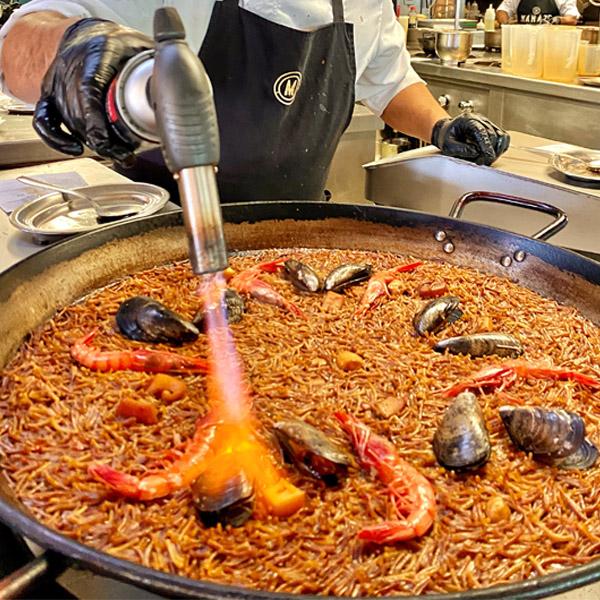 Paella de Mariscos - La Barceloneta
