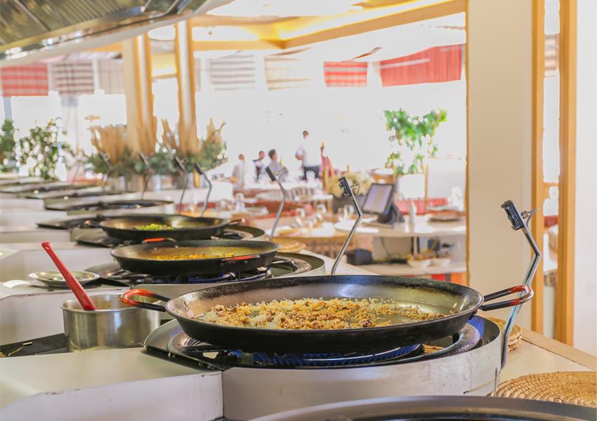 restaurante paella barceloneta