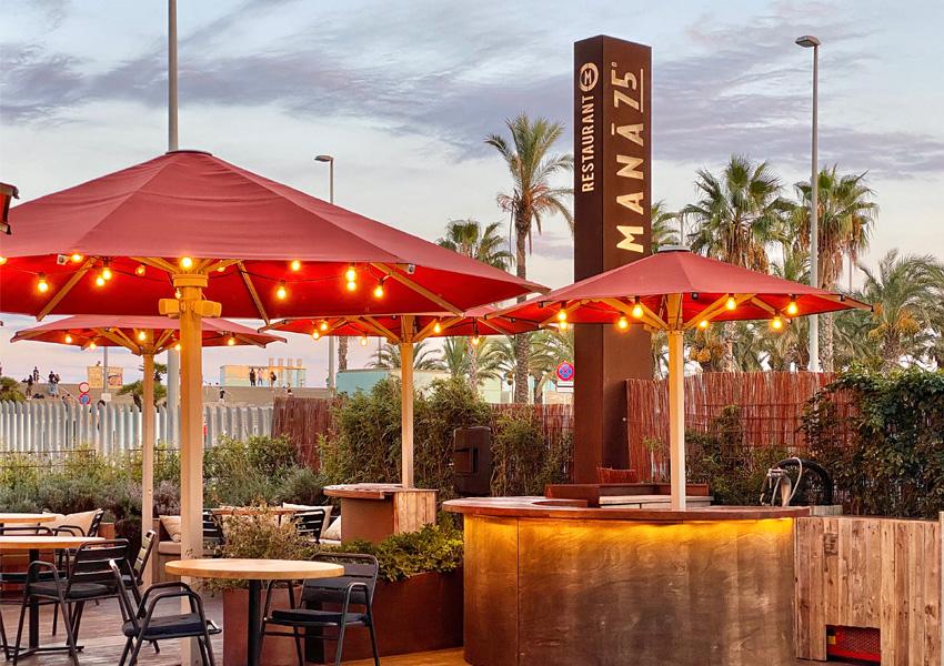 restaurante con terraza barcelona