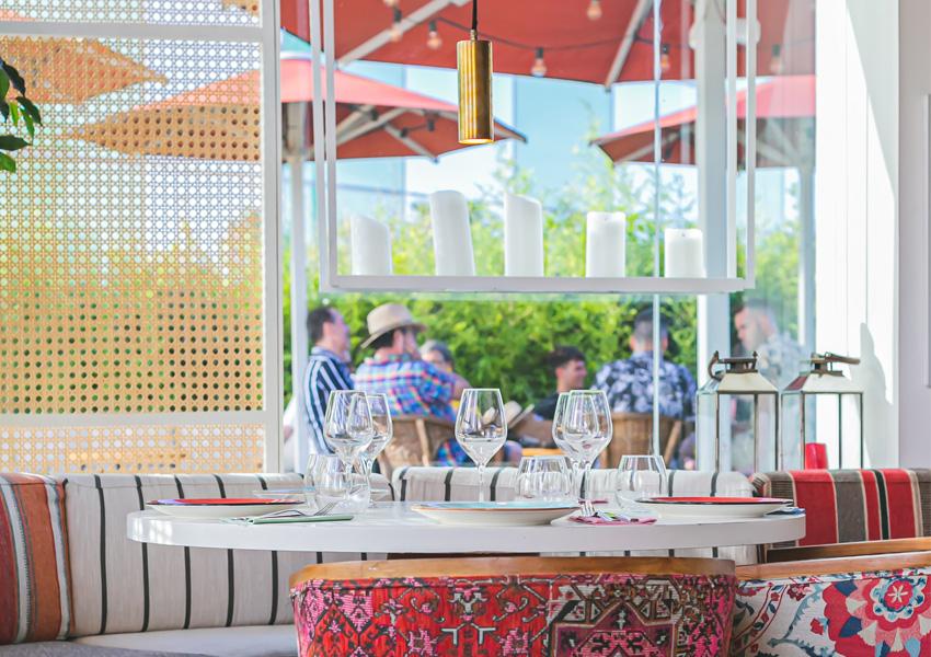 barceloneta restaurante con terraza