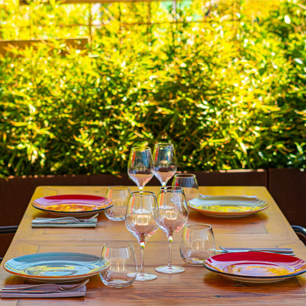 Restaurante con terraza en Barcelona -Mana 75